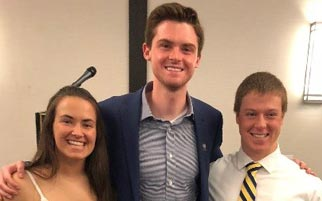 Kline and Bondi Lab Trainees Graduate